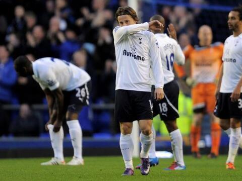Tottenham quedó sin palabras luego de caer ante el Everton.