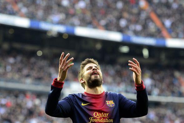La defensa del Barcelona llegó a 12 partidos encajando goles, una seguid...