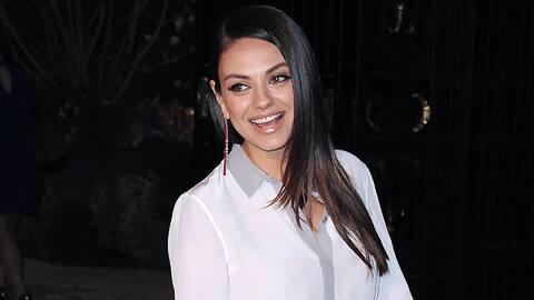 Mila Kunis absolutamente quiere más hijos