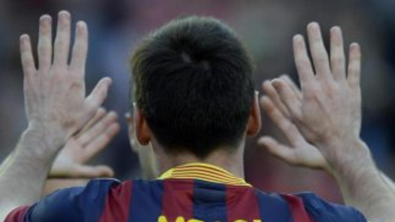 Messi hizo triplete histórico con el Barça