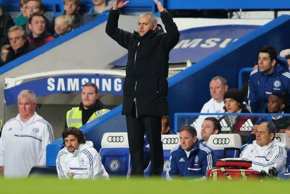 Pero José Mourinho aún no estaba conforme con el funcionam...
