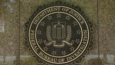 El logotipo del FBI. (Imagen de Archivo).