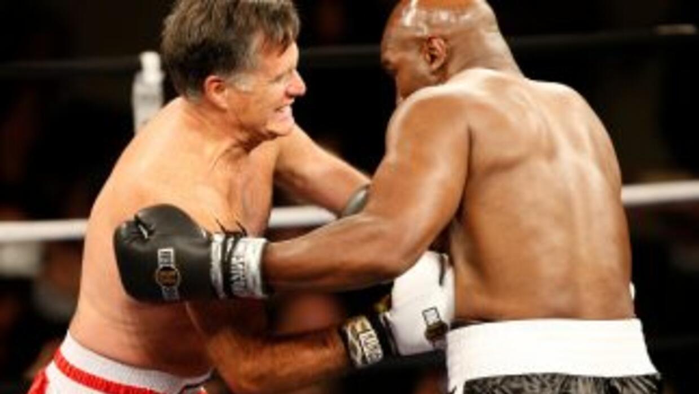 Romney vs Holyfield