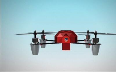 Animación: Departamento de Bomberos en Nueva York se asiste de drones pa...