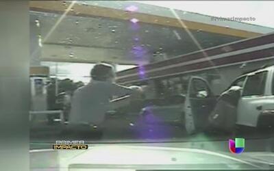 Un policía le disparó por no usar el cinturón de seguridad