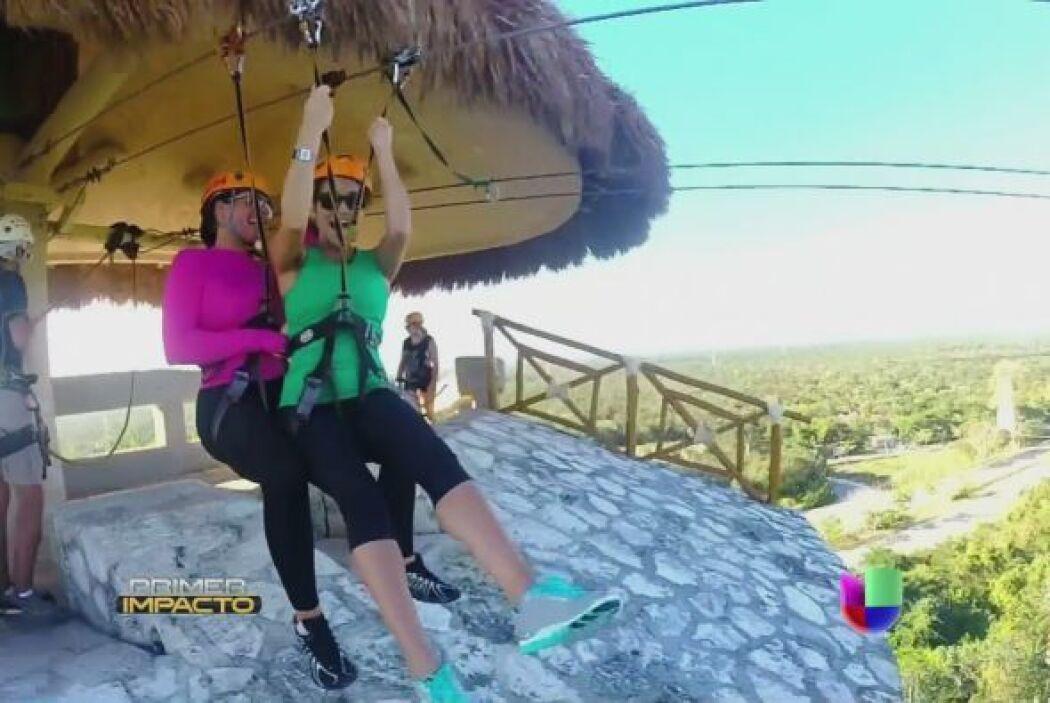 Bárbara Bermudo y Pamela Silva-Conde vivieron una aventura de 'Impacto'...