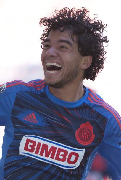 Giovani Hernández.- El medio campista del Guadalajara está...