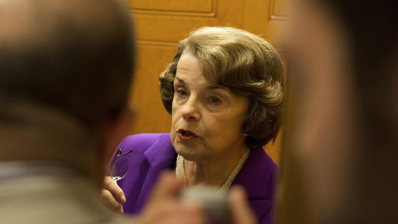 Senadora federal Dianne Feinstein.