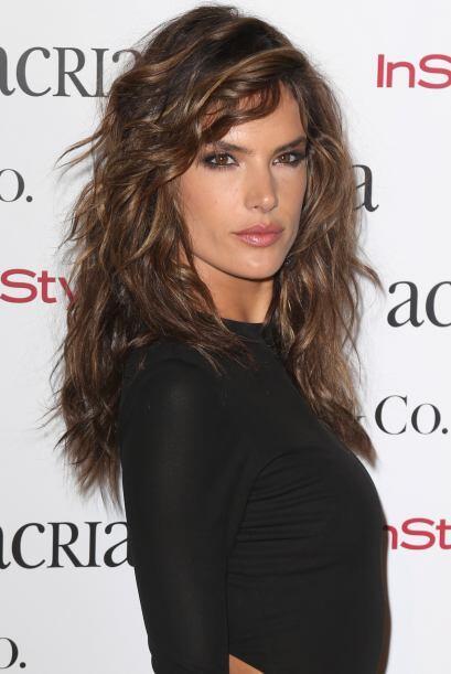 La hermosa Alessandra Ambrosio se robó todas las miradas.