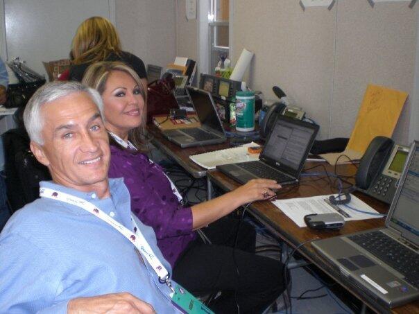 Mis 30 años de televisión JR Y MES Convención Republicana en el 2008.jpg