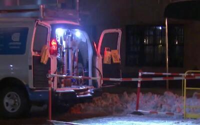 Emergencia por explosión de una alcantarilla en Manhattan, con reporte d...