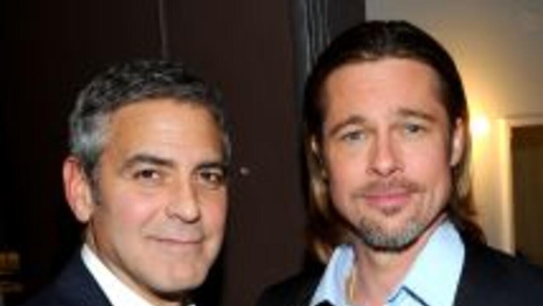 George Clooney y Brad Pitt tienen alta calificación en la app.