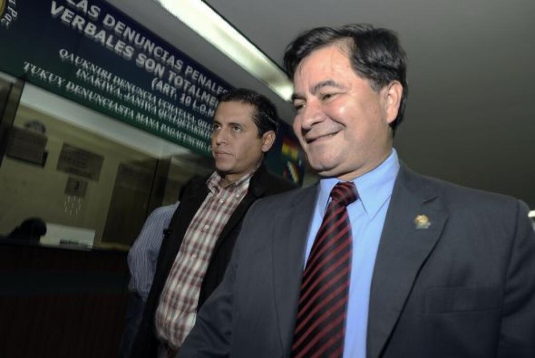 Roger Pinto, senador de Bolivia   El senador opositor boliviano Roger Pi...