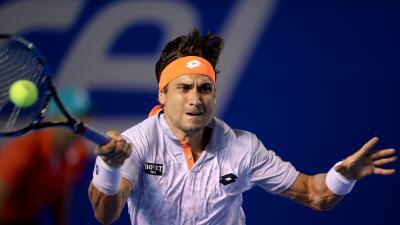Ferrer avanza en Abierto Mexicano de Tenis