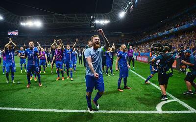 Islandia jugará ante Francia en cuartos de final