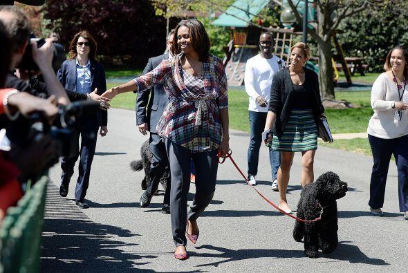 Este tradicional evento se lleva a cabo desde 1877, pero la familia Obam...