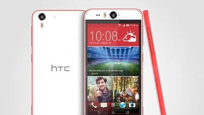 El Desire EYE es el primer teléfono de HTC enfocado en selfies.