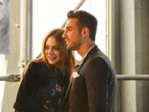 Todo parece indicar que Lindsay Lohan se volvió a enamorar.  Mira...