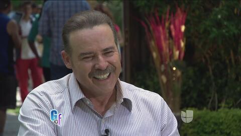 César Évora contó cómo fue de difícil y complicada su llegada a la telev...