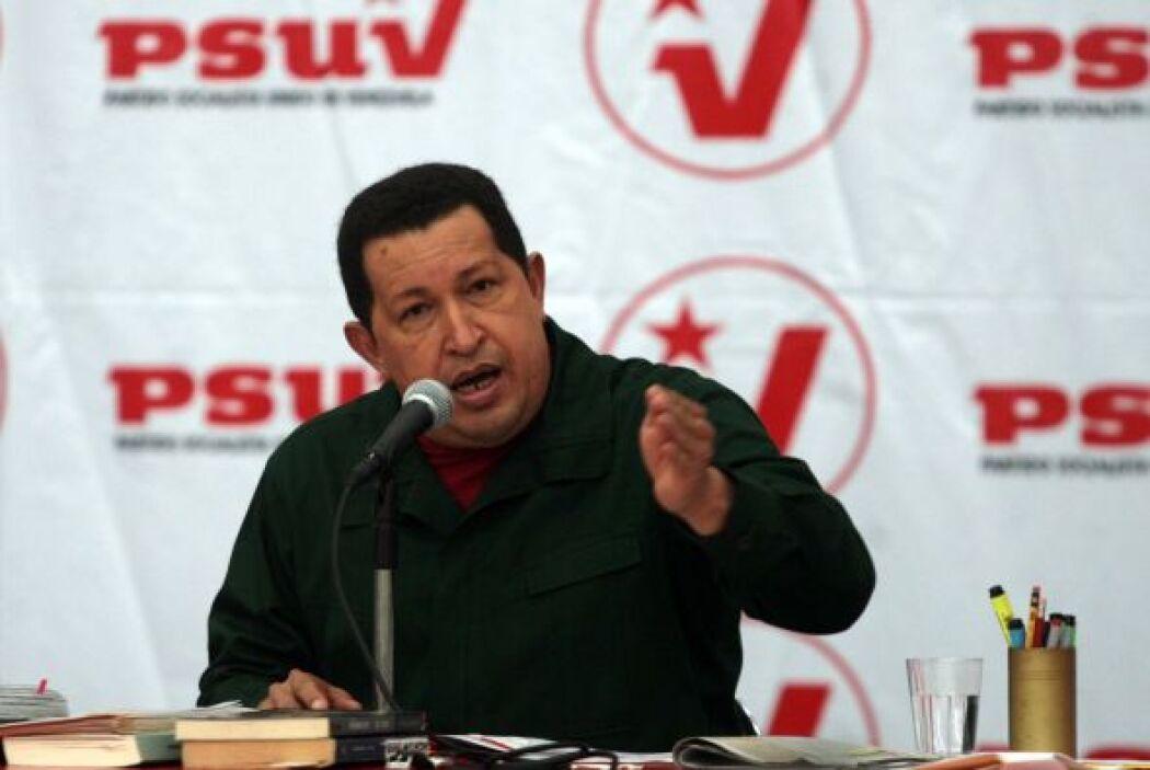 Hugo Chavéz legislará en nueve rubros relacionados con la emergencia de...