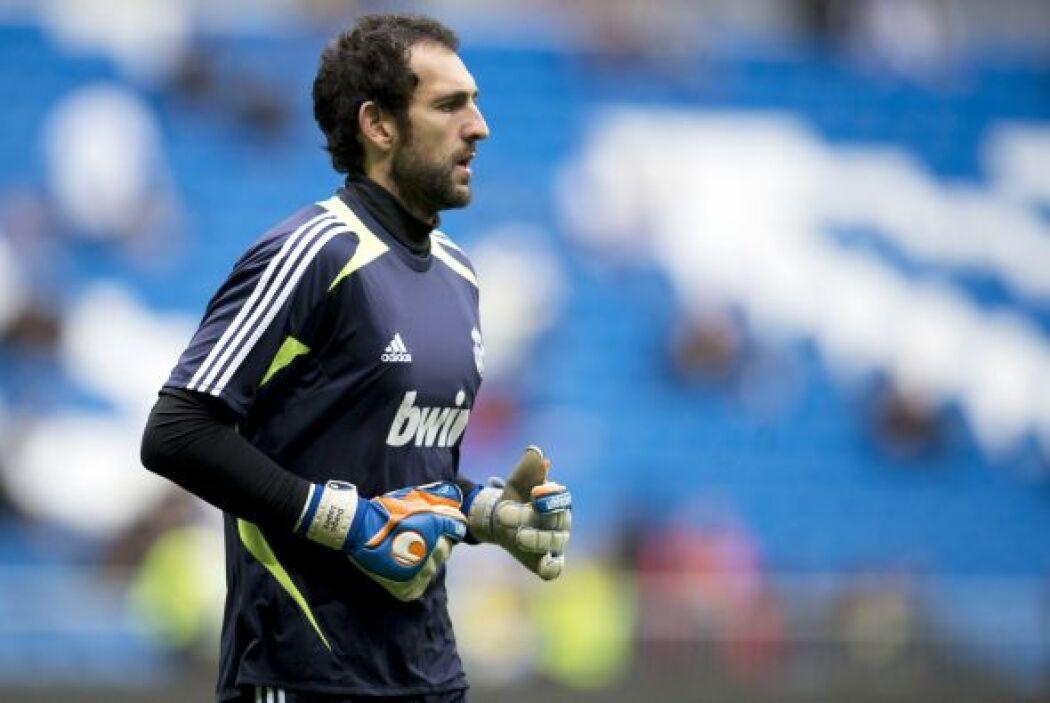 El portero Diego López, nuevo refuerzo 'merengue' ante la lesión de Iker...