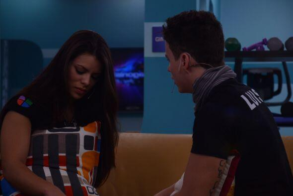"""A Marlin las palabras de Luis la dejaron sin palabras. """"Estoy sorprendid..."""