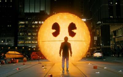 'Pixels': Pac-Man te quiere comer