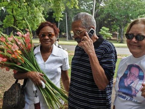 La liberación del disidente cubano Arnaldo Ramos, quien fue el primero e...