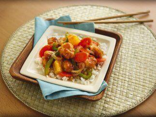 Pollo sofrito agridulce: Si te gustan los sabores exóticos, este plato e...