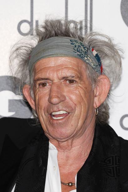 A sus 69 años, Richards sigue imponiendo su propia moda, que sólo a él s...