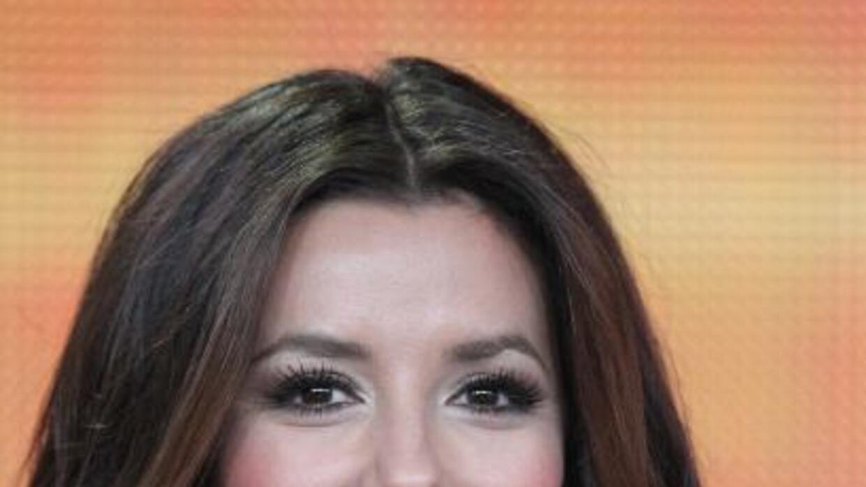 La actriz salía ayer de la peluquería del famoso estilista Ken Paves, cu...
