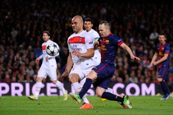 Los 'Blaugranas' comenzaron a hilar jugadas con mayor proyección...