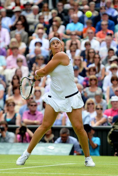 Bartoli, de 28 años y 15ª jugadora mundial, ya tuvo una experiencia a es...