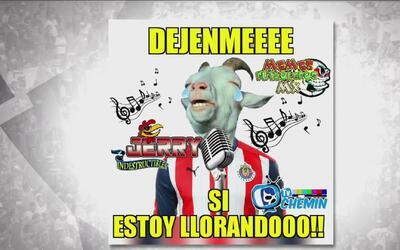 Las Chivas sufrieron, cayeron y fueron víctimas de los memes