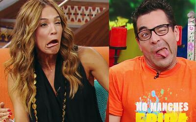 Mira las caras y gestos de Karla Martínez y Omar Chaparro que pusieron p...