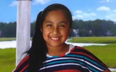 La joven de nueve años Diana Álvares