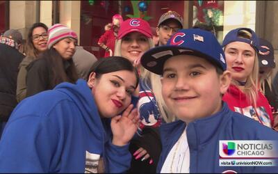 La locura por Javi Báez llega a las calles de Chicago