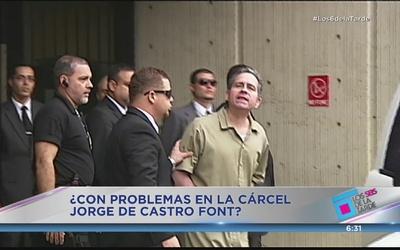 Agreden en la cárcel a Jorge de Castro Font