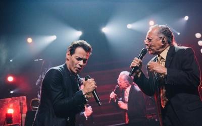 Marc Anthony y papá