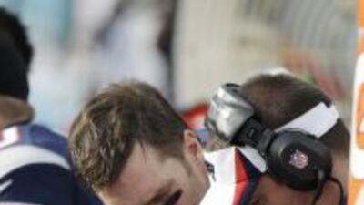 Tom Brady está regresando a la frustración que lo plagó al inicio de la...