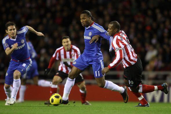 Chelsea hizo lo propio en su visita al Sunderland.