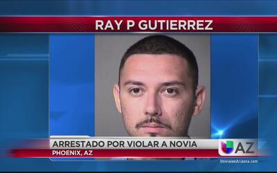 Arrestado por violar a su novia