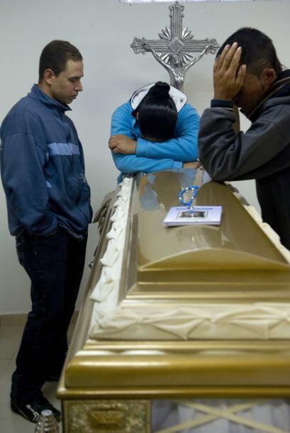 Diez campesinos fueron asesinados el miércoles, presuntamente por...