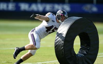 Los arduos entrenamientos de los Baltimore Ravens rumbo a la temporada 2...
