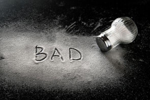 La 'mala reputación' de la sal derramada data del año 3,50...