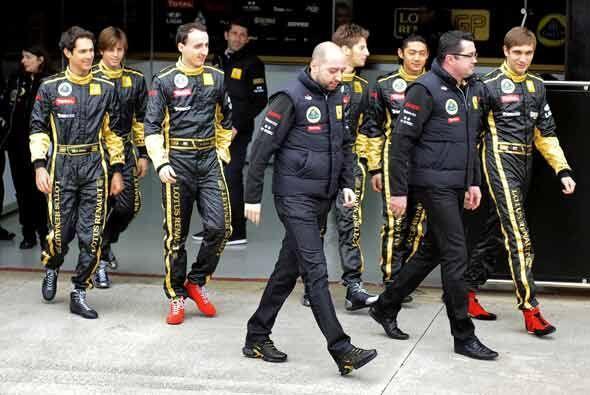 Apenas el martes pasado, Kubica estuvo en Valencia, España en la...
