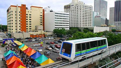 El Metromover tendrá un nuevo horario de servicios