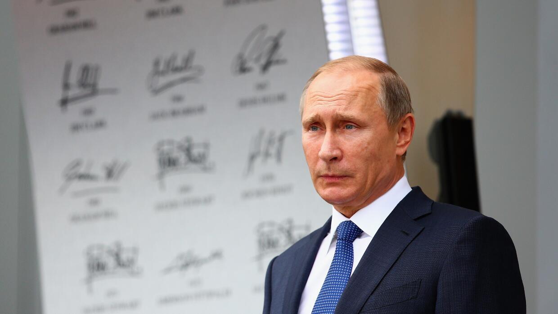 El presidente ruso, Vladimir Putin, en un evento de Fórmula Uno en octubre.