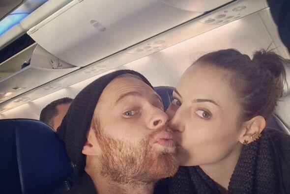 Marimar Vega y su novio Luis Ernesto Franco regresan a México a p...