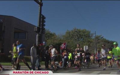 ¡Ya viene el maratón de Chicago!